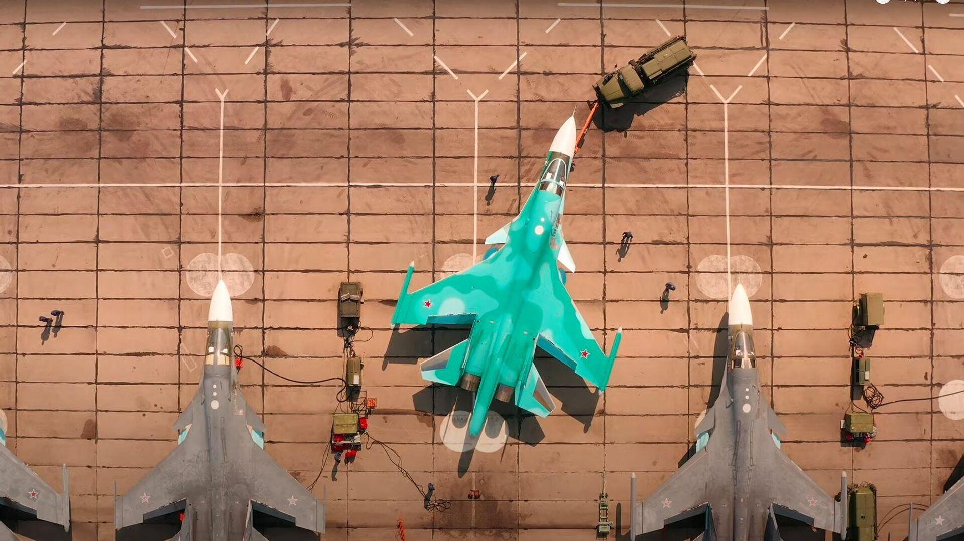 Cazabombarderos Su-34 - Sputnik Mundo, 1920, 11.09.2021