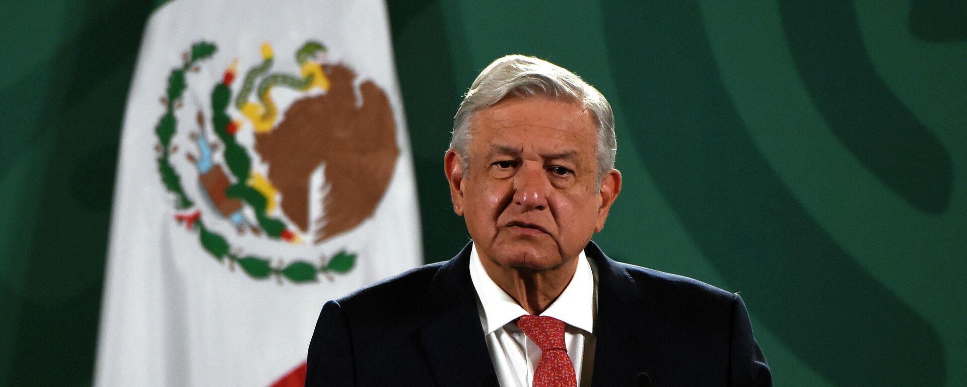 Andrés Manuel López Obrador, presidente de México - Sputnik Mundo, 1920, 13.09.2021