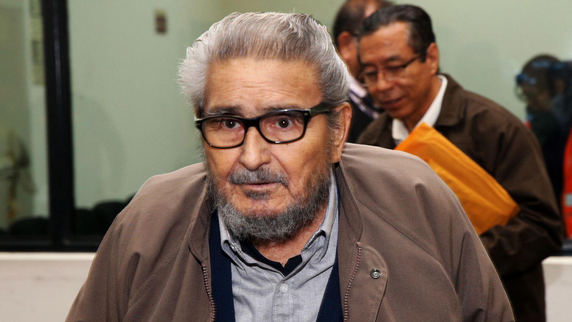 Abimael Guzmán, líder de la organización terrorista Sendero Luminoso - Sputnik Mundo, 1920, 13.09.2021