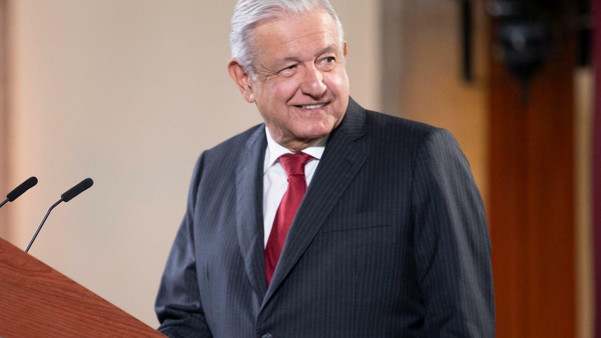 Andrés Manuel López Obrador - Sputnik Mundo, 1920, 13.09.2021