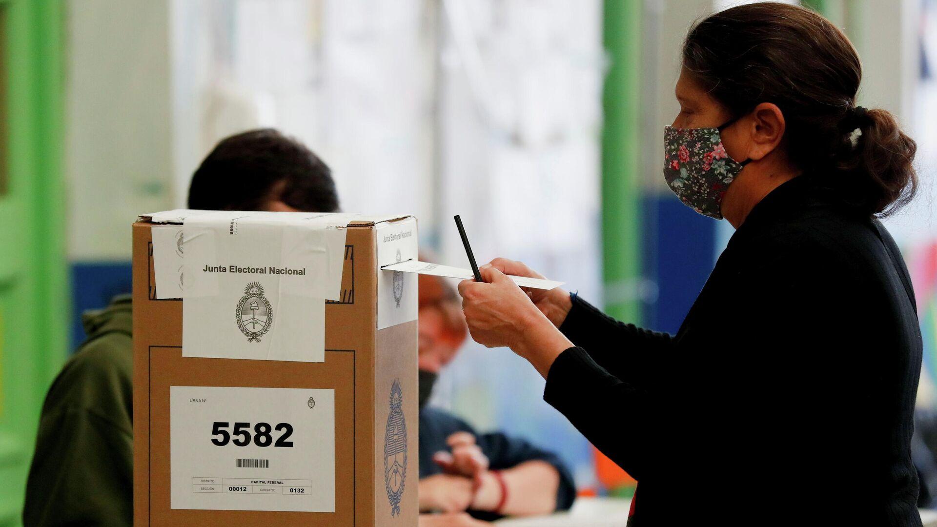 Las elecciones Primarias, Abiertas, Simultáneas y Obligatorias (PASO) en Argentina, el 12 de septiembre de 2021 - Sputnik Mundo, 1920, 13.09.2021
