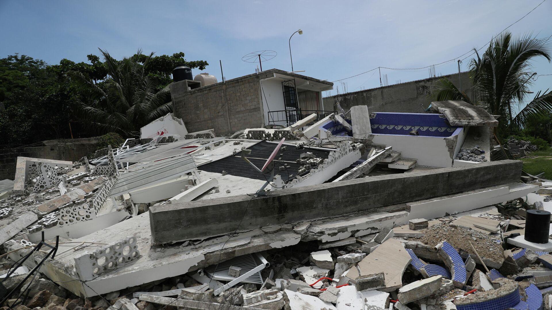 Terremoto en México - Sputnik Mundo, 1920, 13.09.2021