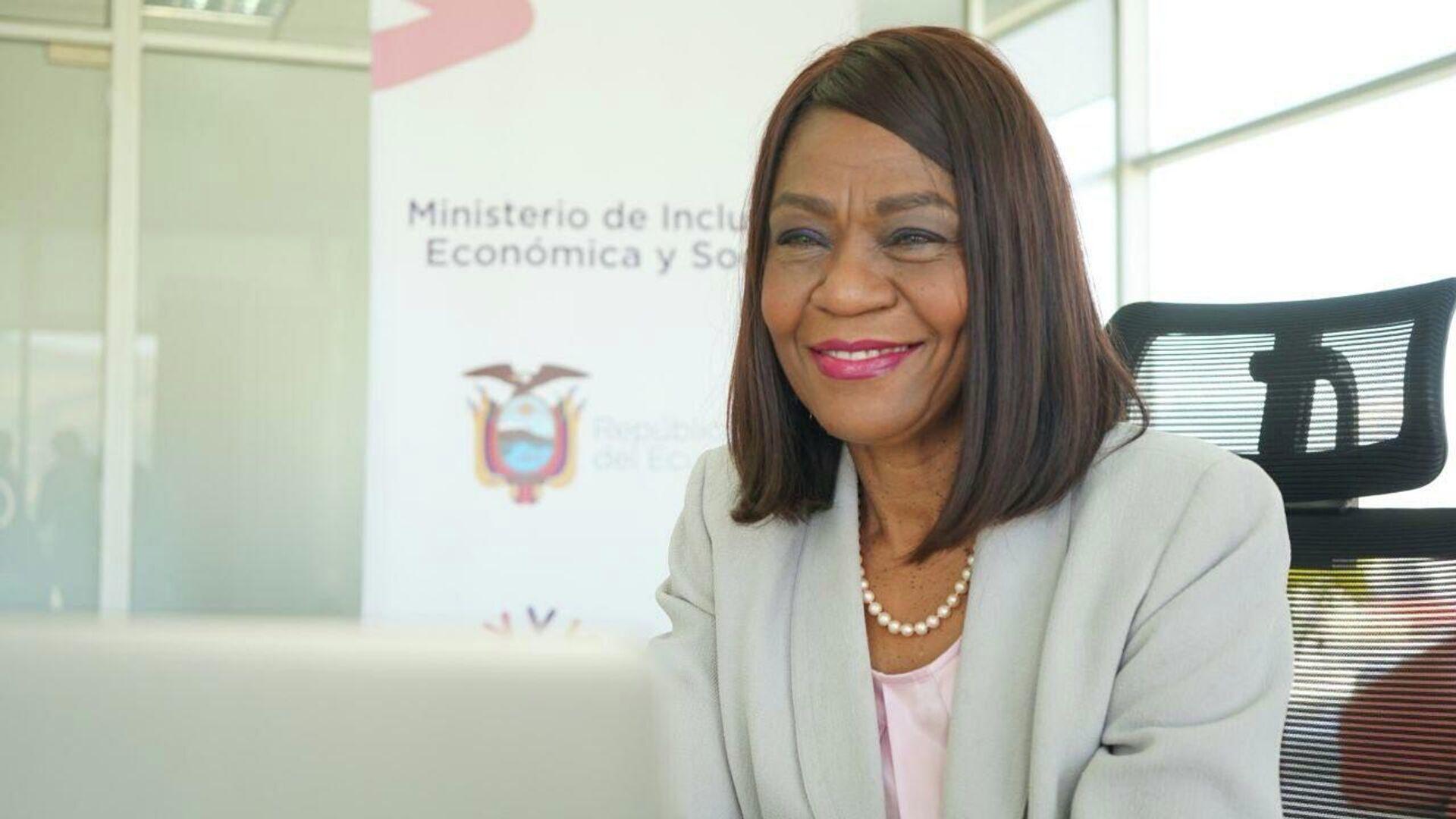 Exministra de Inclusión Económica y Social (MIES) de Ecuador, Mae Montaño - Sputnik Mundo, 1920, 14.09.2021