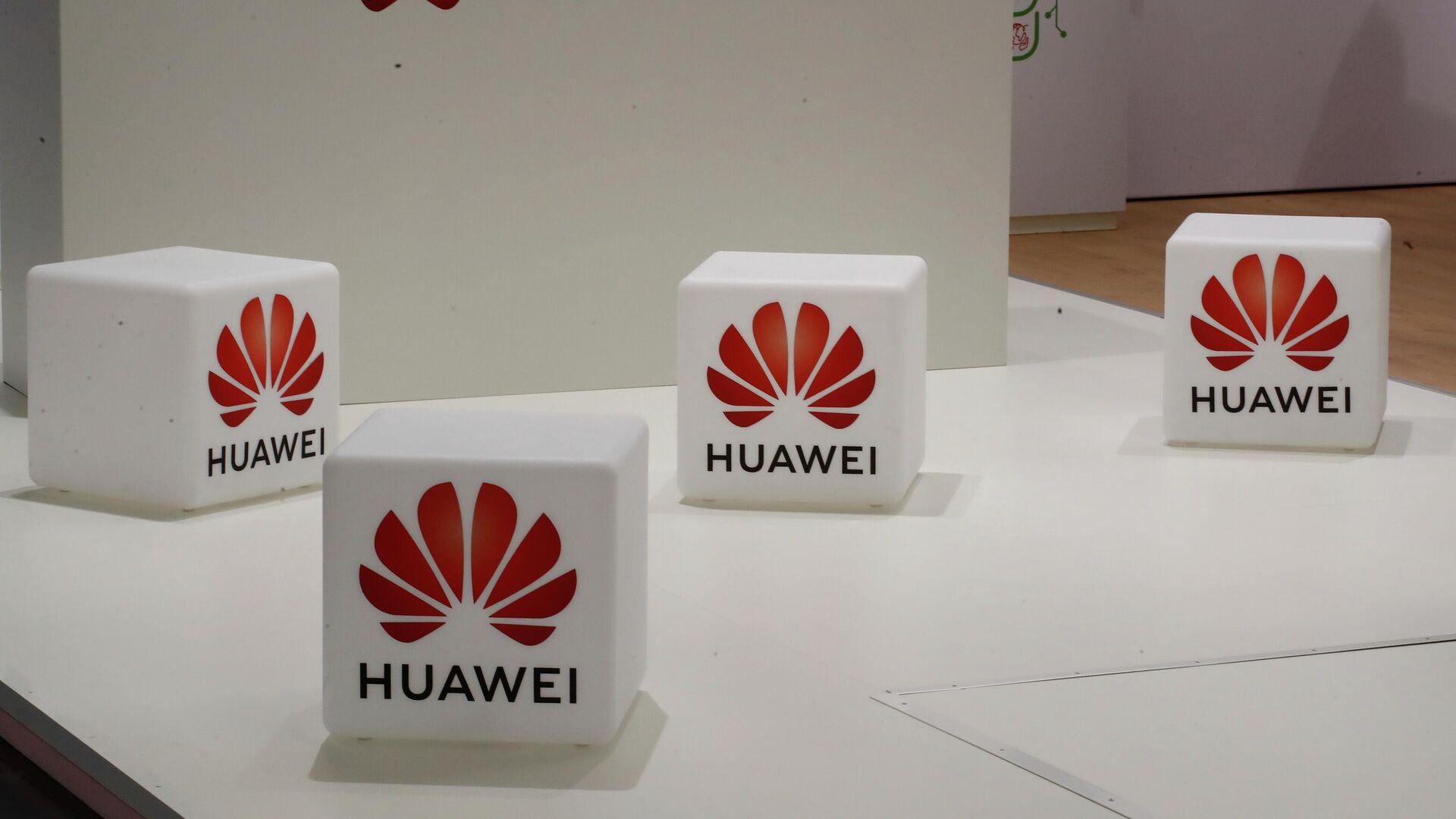 Cubos con el logo de Huawei - Sputnik Mundo, 1920, 15.09.2021
