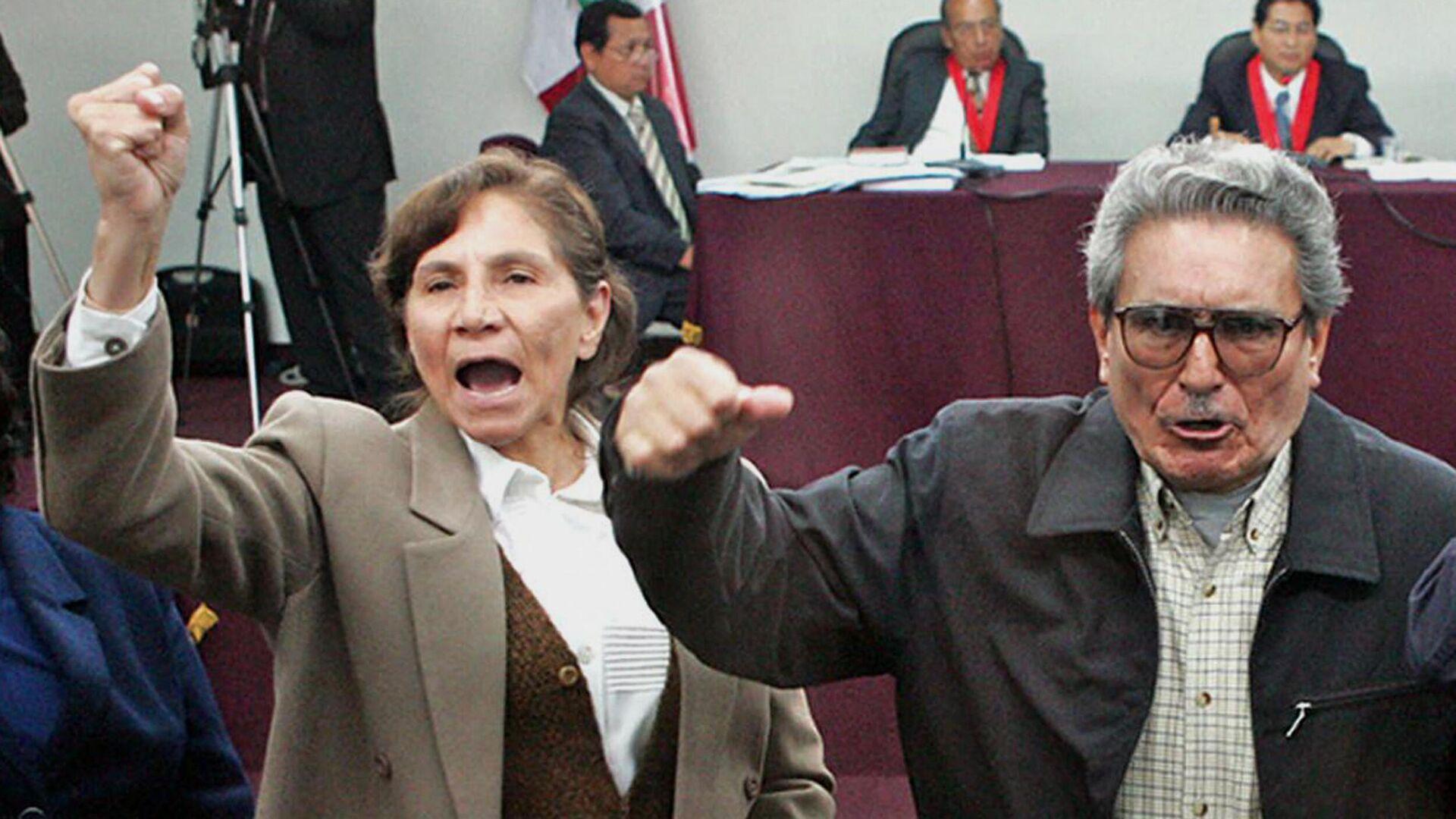 Abimael Guzman y Elena Iparraguirre - Sputnik Mundo, 1920, 15.09.2021