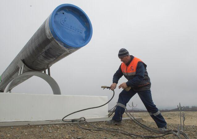 Сonstrucción del gasoducto South Stream