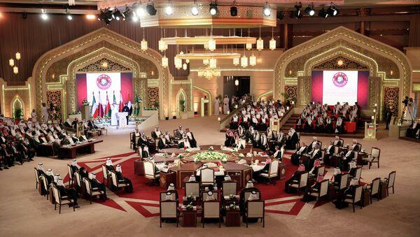La cumbre del Consejo de Cooperación para Estados Árabes del Golfo (archivo) - Sputnik Mundo