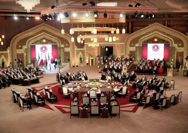 La cumbre del Consejo de Cooperación para Estados Árabes del Golfo (archivo)