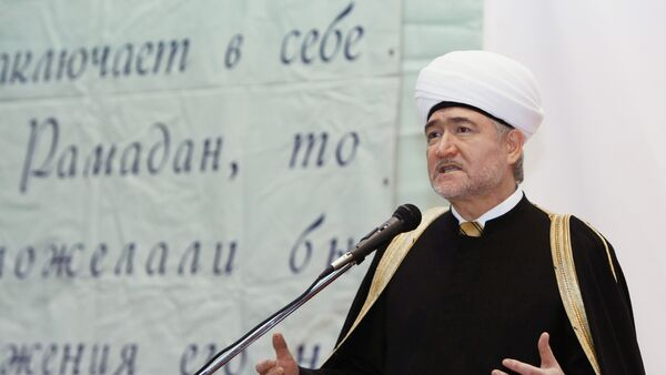 Ravil Gainutdin, presidente del Consejo de los Mufties de Rusia - Sputnik Mundo