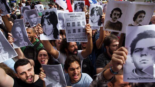 Retratos de las víctimas de la Dictadura Militar en Brasil - Sputnik Mundo