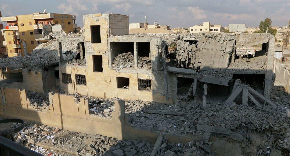Удар американских военных по позициям Исламского государства