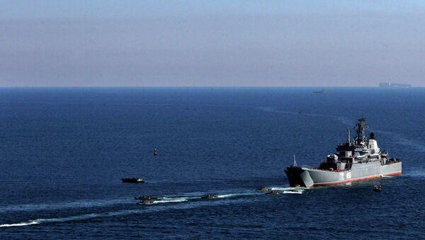 Тактические учения морской пехоты Тихиоокеанского флота в Приморском крае - Sputnik Mundo