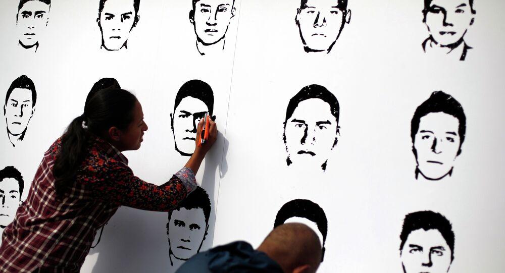 Imágenes de los estudiantes desaparecidos en México