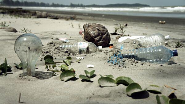 Los océanos tienen 270 toneladas de residuos plásticos en la superficie - Sputnik Mundo