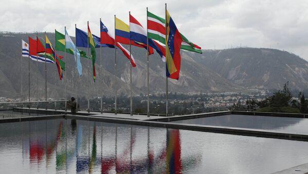 Banderas de UNASUR - Sputnik Mundo