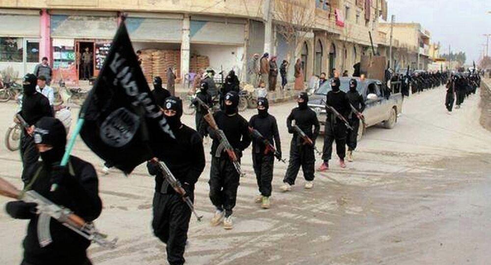 Militantes del grupo yihadista Estado Islámico (archivo)