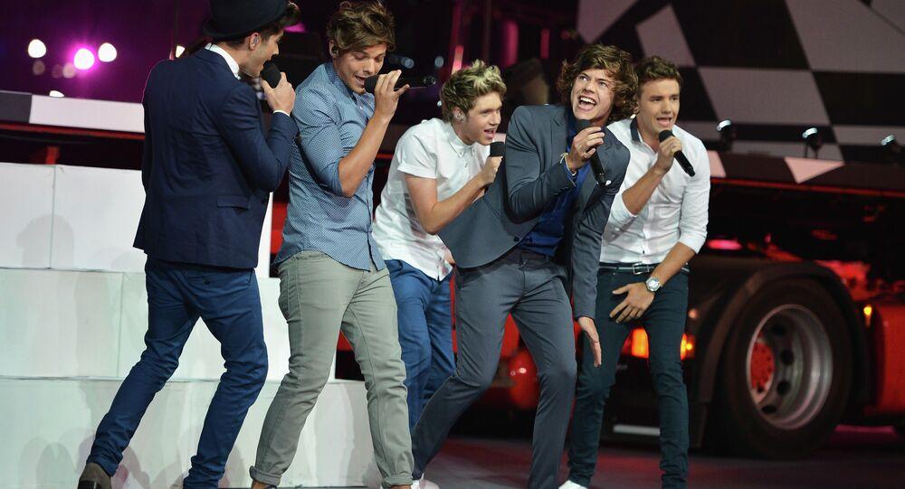 La boyband británica One Direction