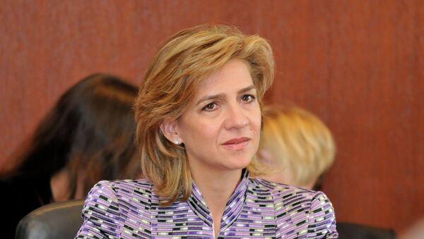 Cristina de Borbón - Sputnik Mundo
