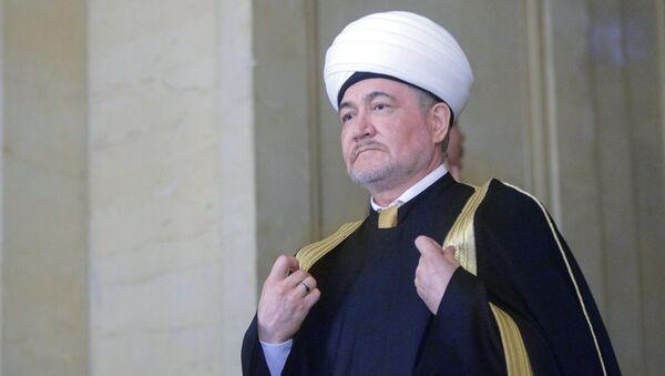 Ravil Gainutdin,  representante del Consejo de Muftíes de Rusia - Sputnik Mundo