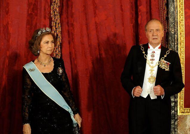 Juan Carlos de Borbón y Sofía de Grecia