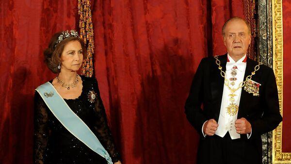Juan Carlos de Borbón y Sofía de Grecia - Sputnik Mundo