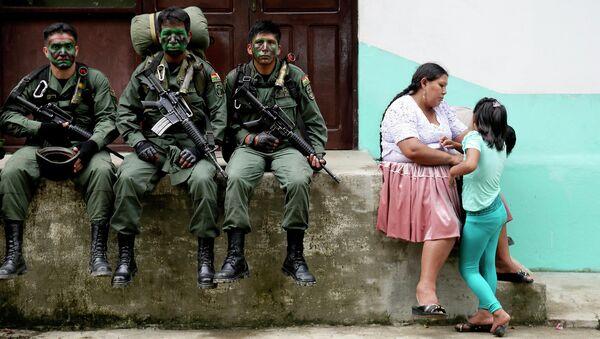 Soldados bolivianos - Sputnik Mundo