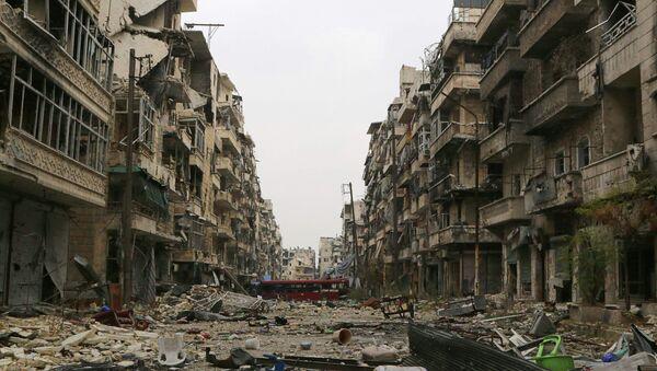 Barrio de Alepo - Sputnik Mundo