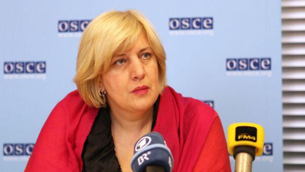 Dunja Mijatovic, representante de la OSCE para la Libertad de Prensa - Sputnik Mundo