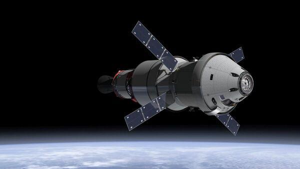 Navío espacial de EEUU Orion - Sputnik Mundo