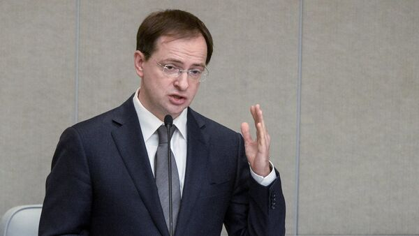 Vladímir Medinski, ministro de Cultura de Rusia - Sputnik Mundo