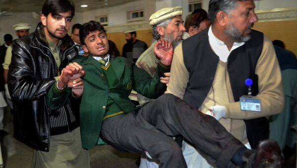 Ataque talibán a una escuela en la ciudad de Peshawar - Sputnik Mundo
