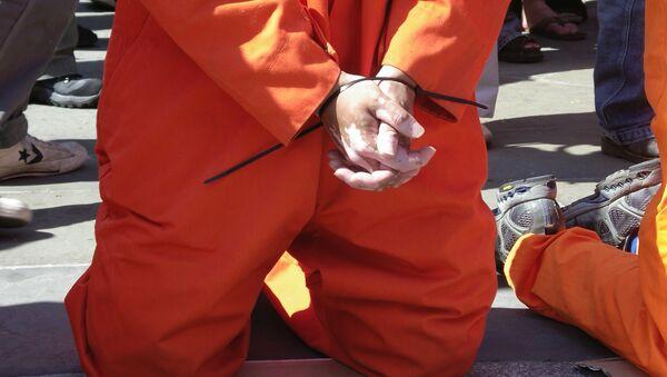 Torturas de prisioneros (imagen referencial) - Sputnik Mundo