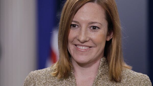 Jen Psaki, directora de comunicaciones de la Casa Blanca, ex portavoz del Departamento de Estado - Sputnik Mundo