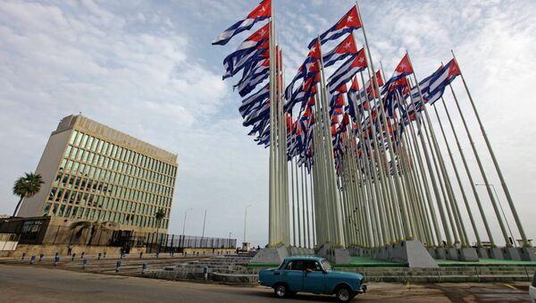 Misión diplomática de EEUU en Cuba - Sputnik Mundo