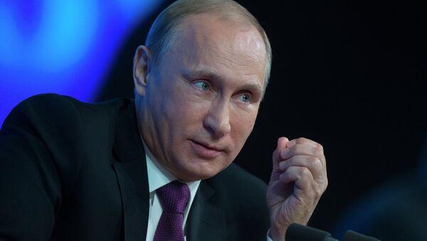 Putin niega que Rusia aplique una política de agresión - Sputnik Mundo