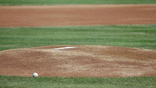 Un campo de béisbol - Sputnik Mundo