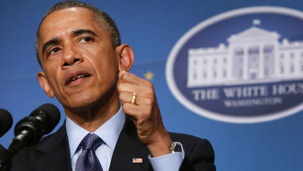 Obama resalta los problemas económicos de Rusia para silenciar los de EEUU - Sputnik Mundo