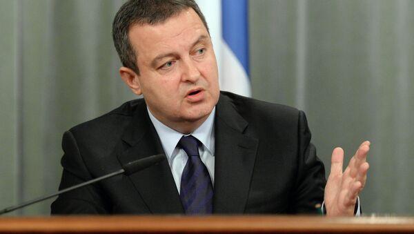Ivica Dacic, ministro de Exteriores de Serbia - Sputnik Mundo