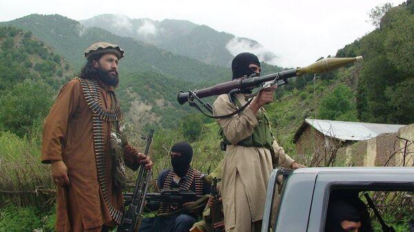 Talibanes (imagen referencial) - Sputnik Mundo