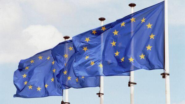 Banderas de la UE - Sputnik Mundo