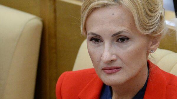 Irina Yarovaya, presidenta del Comité para la Seguridad y la resistencia a la Corrupción de la Duma - Sputnik Mundo