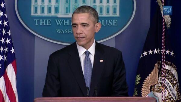Presidente de EEUU, Barack Obama - Sputnik Mundo