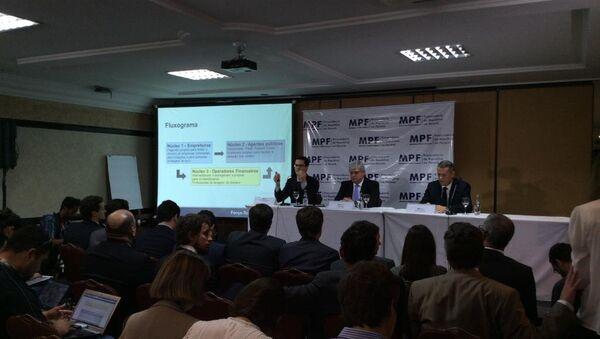 MPF ofreció cinco cargos contra 35 personas por los delitos de corrupción, lavado de dinero y la organización criminal - Sputnik Mundo