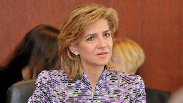 Infanta Cristina de Borbón y Grecia - Sputnik Mundo