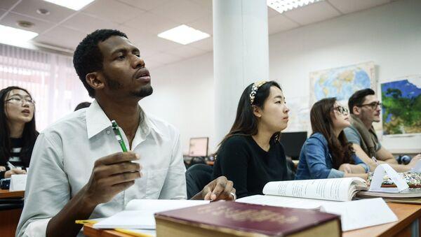 Estudiantes de Universidad de Rusia de la Amistad de los Pueblos - Sputnik Mundo