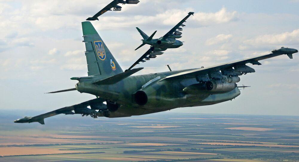 Su-25 de las Fuerzas Aéreas de Ucrania
