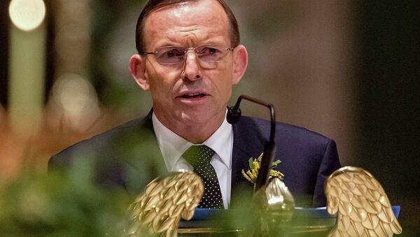 Australian Prime Minister Tony Abbott - Sputnik Mundo