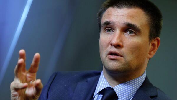 Ministro del Exterior de Ucrania Pavló Klimkin - Sputnik Mundo