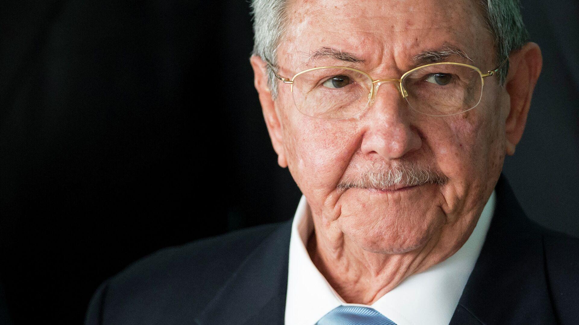 Raúl Castro, expresidente de Cuba - Sputnik Mundo, 1920, 16.04.2021