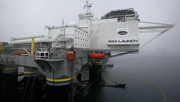 Plataforma Sea Launch - Sputnik Mundo